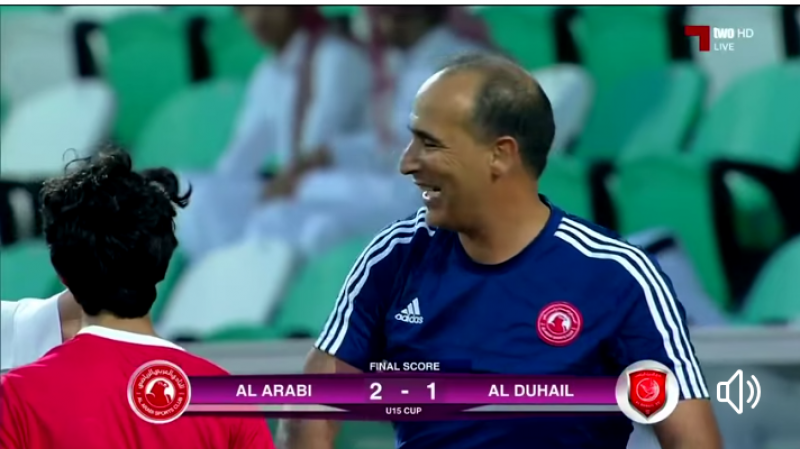 التونسي عبد الرزاق الكنيس يتوج بكأس الناشئين مع العربي القطري