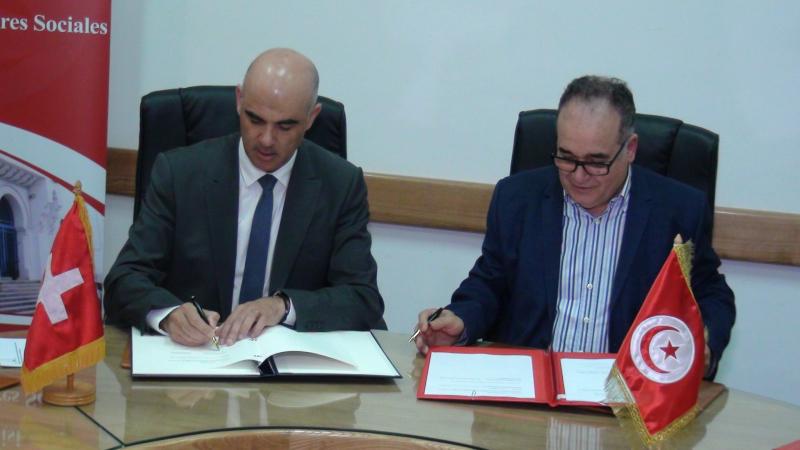 توقيع إتفاقية تونسية سويسرية في مجال الضمان الإجتماعي