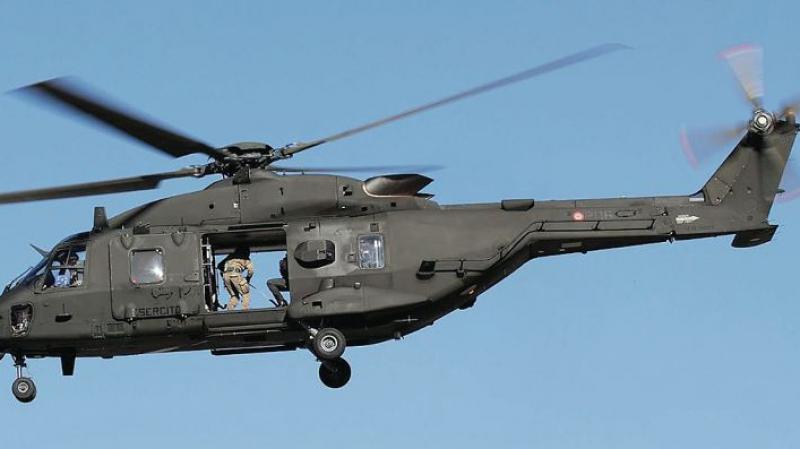 شراكة جزائرية-إيطالية لصناعة المروحيات