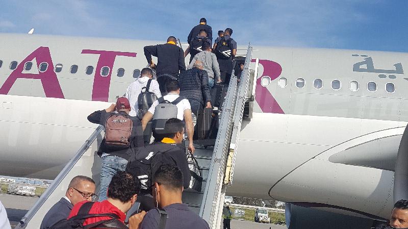 30 لاعبا في رحلة الترجي إلى قطر