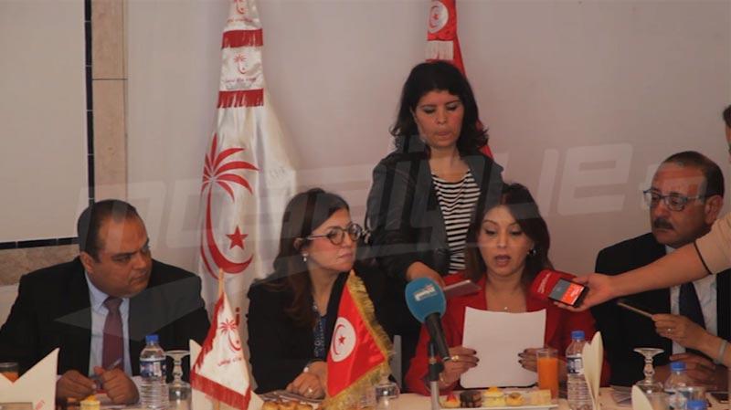 تركيبة المكتب السياسي لنداء تونس