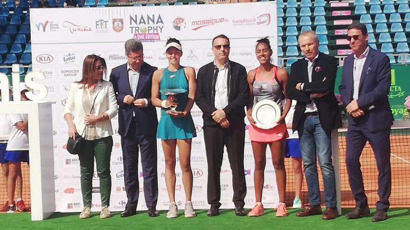 الرومانية كريستيان جاكيلين بطلة دورة ''نانا تروفي'' للتنس