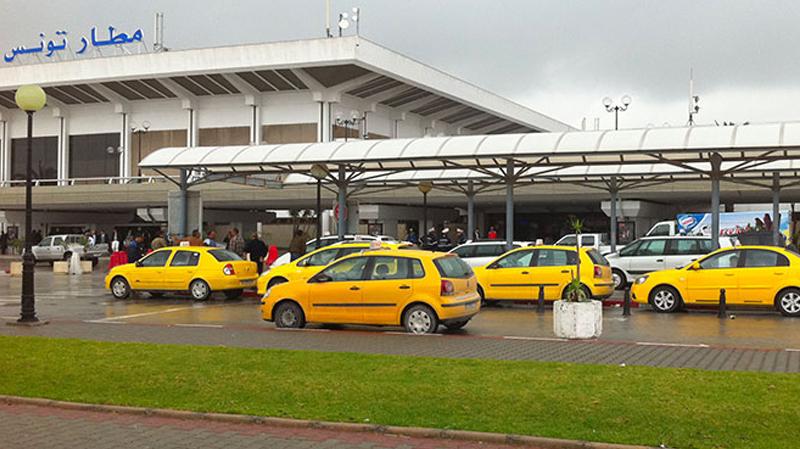 غلق محطة التاكسي في مطار قرطاج