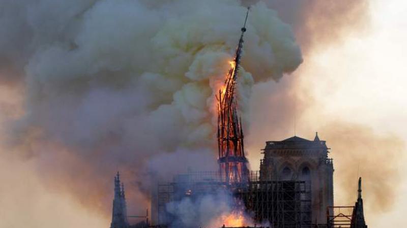 حريق ''نوتر دام'': النهضة تعبّر عن تضامنها مع الشعب الفرنسي