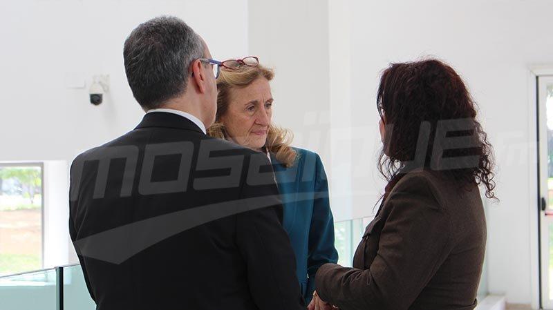 وزيرة العدل الفرنسية من متحف باردو: حريق الكاتدرائية كارثة