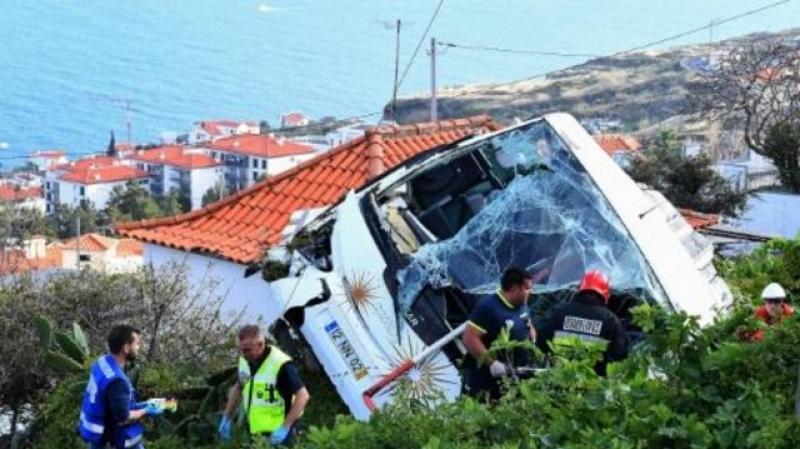 مقتل 29 سائحا ألمانيا في انقلاب حافلة في البرتغال