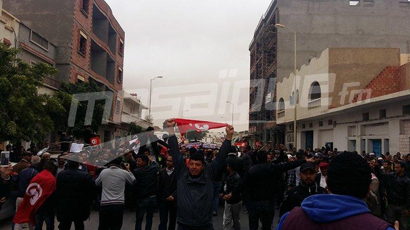 احتجاجات تطاوين: منظمة الدفاع عن حقوق الإنسان تحذر