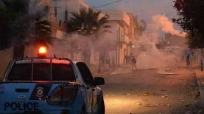 فريانة: تجدد أعمال العنف وحرق شاحنة