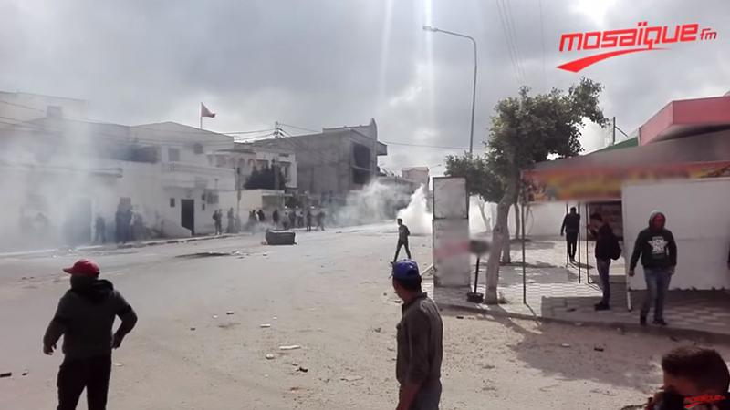 اتّحاد الشغل يستنكر قمع احتجاجات سيدي بوعلي