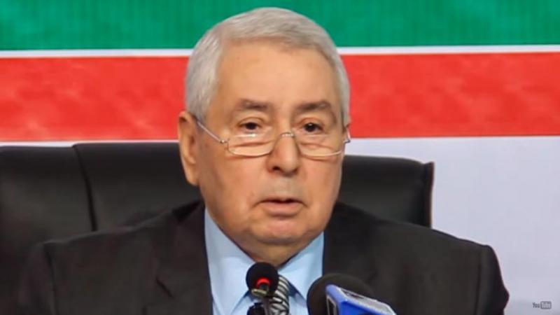 الرئيس المؤقت الجزائري يقيل الكاتب الخاص لبوتفليقة