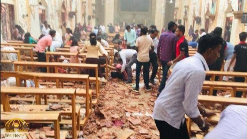 أكثر من مائة قتيل في سلسلة تفجيرات تهزّ سريلانكا