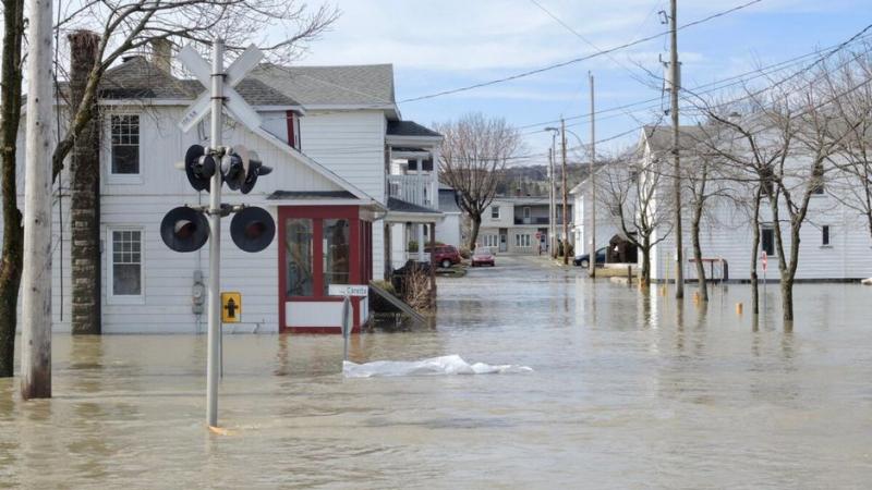 كندا: فيضانات في مقاطعتي كيبيك ونيو برونسويك