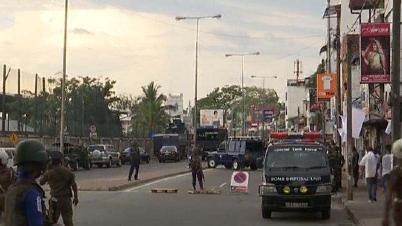 انفجار قنبلة قرب كنيسة في العاصمة السريلانكية