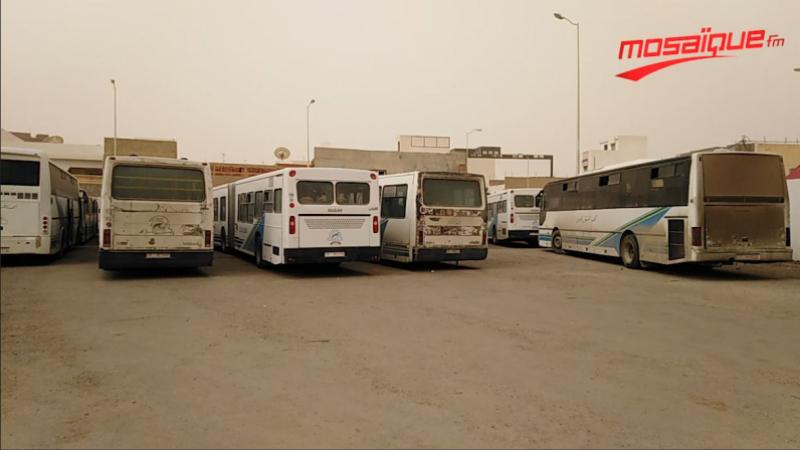 إنهاء إضراب الشركة الجهوية للنقل بتطاوين وغمراسن