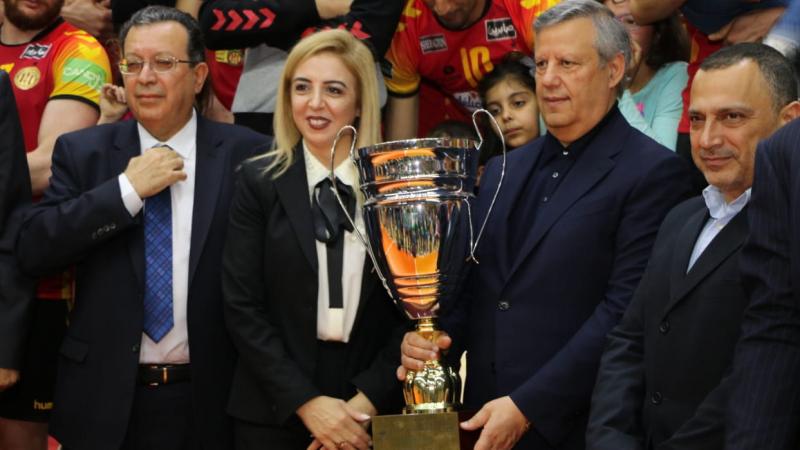 الترجي الرياضي يتسلم رمز بطولة تونس للكرة الطائرة