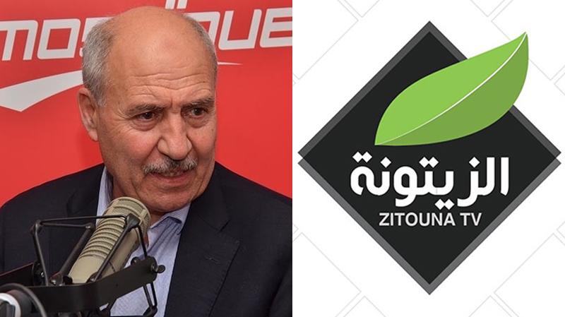 اللجمي : سند سياسي وراء عدم تنفيذ قرار حجز معدات قناة الزيتونة