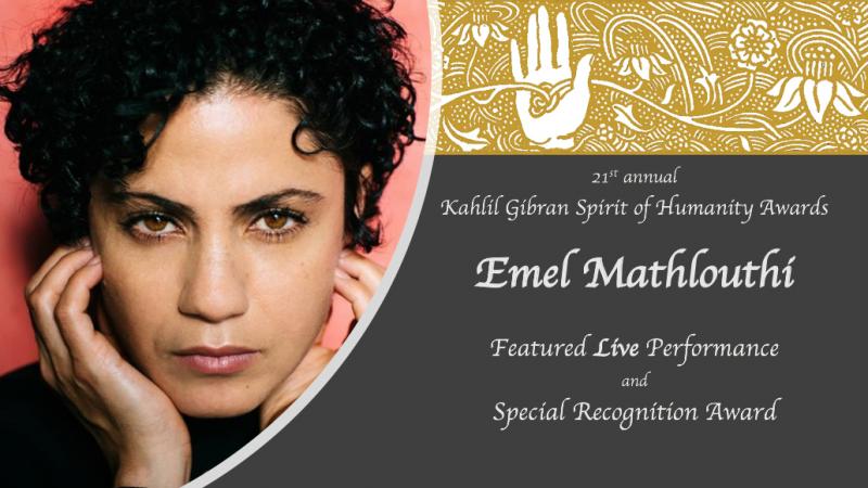 آمال مثلوثي تفوز بجائزة التقدير الخاص من المعهد العربي الأمريكي