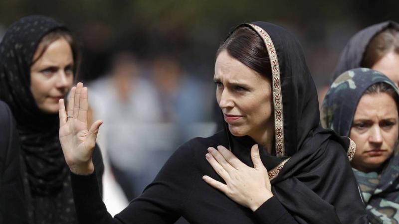 إعلان خطبة رئيسة وزراء نيوزيلندا