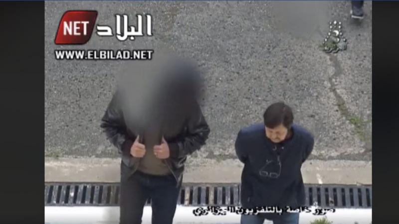 التلفزيون الجزائري يعرض صور السعيد بوتفليقة الموقوف