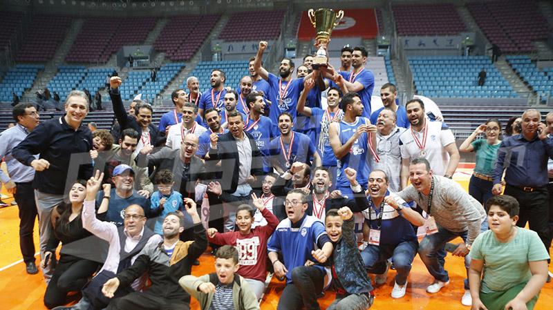 النجم الرادسي يحرز كأس تونس لكرة السلة