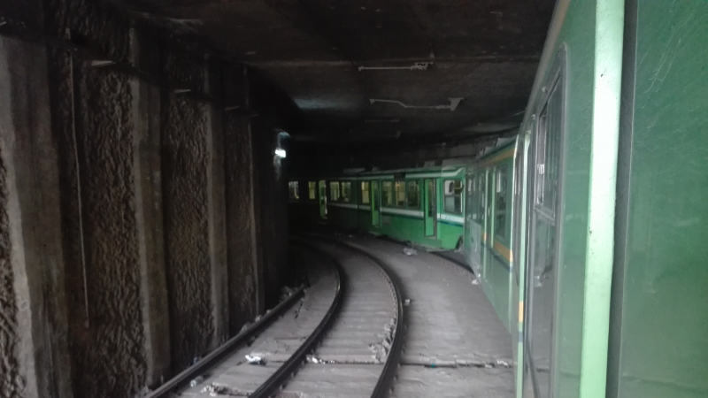 تعطل المترو رقم 4 لأكثر من 3 ساعات داخل نفق باردو