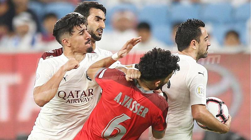 إعتداء بالعنف و إقصاء لبونجاح في نهائي كأس قطر