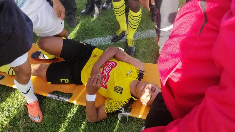 الناطق الرسمي للملعب القابسي:إصابة لاعب بن قردان مفتعلة