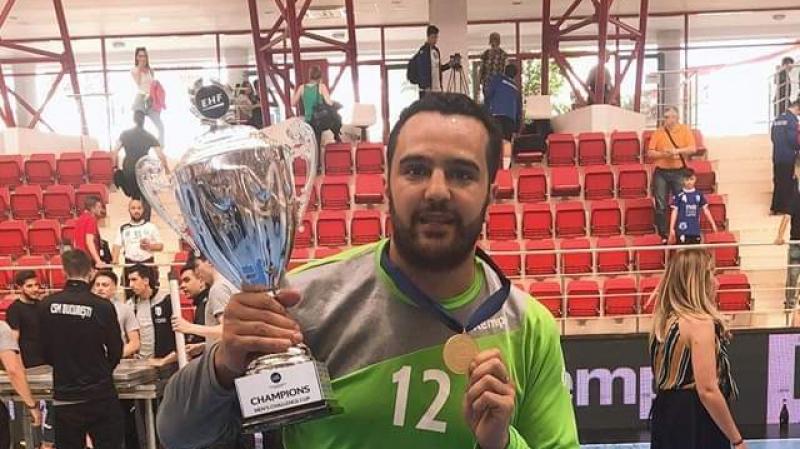 كرة اليد: مروان مقايز يتوج بالدوري الأوروبي