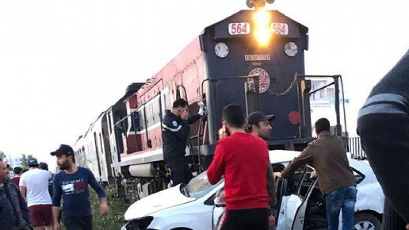 تحقيق قضائيفيوفاة3 أطفال في تصادم سيارة مع قطار بصفاقس