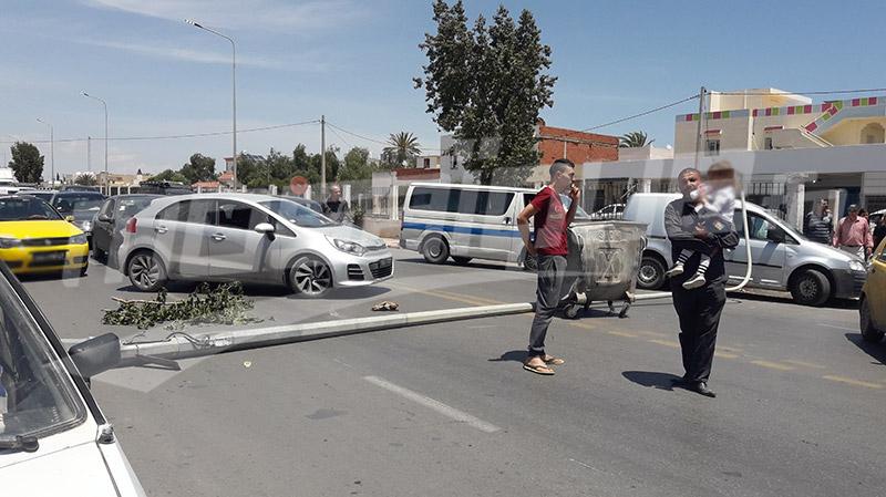 صفاقس: الأمن يفضّ إعتصام ''نحي قطار الموت'' بالقوّة