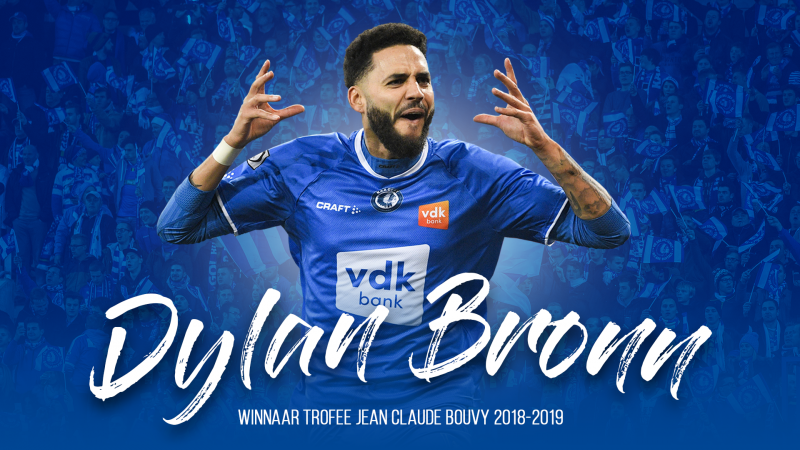 ديلان برون أحسن لاعب في الموسم مع فريقه لاغانتواز
