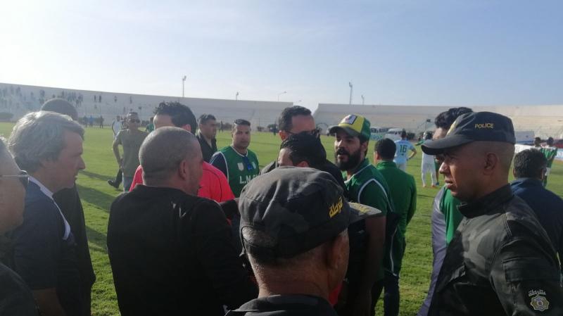 أحداث مباراة الملعب القابسي واتحاد بن قردان: نقابة الأمن توضّح