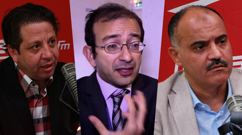 خالد الكريشي ومحمد علي اللومي وكريم الهلالي في ميدي شو