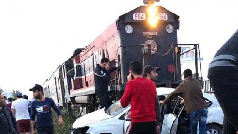 لجنة تحقيق فنيّ في حادث إصطدام قطار بسيارة في صفاقس