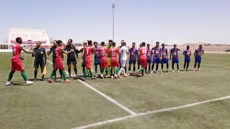 التعادل يحسم مباراة اتّحاد تطاوين والملعب التونسي