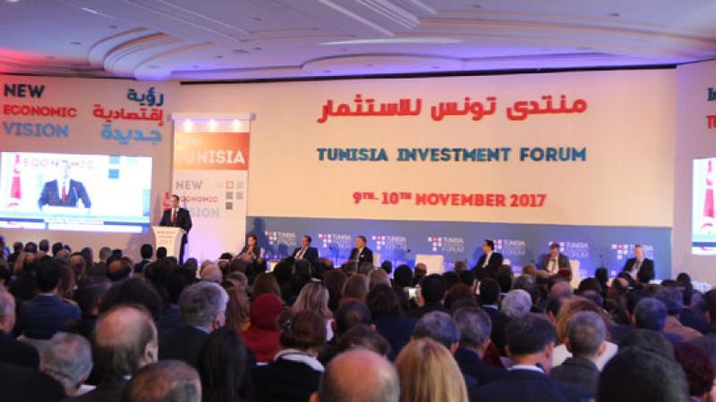 رجال أعمال إيطاليون وألمان في منتدى تونس للإستثمار