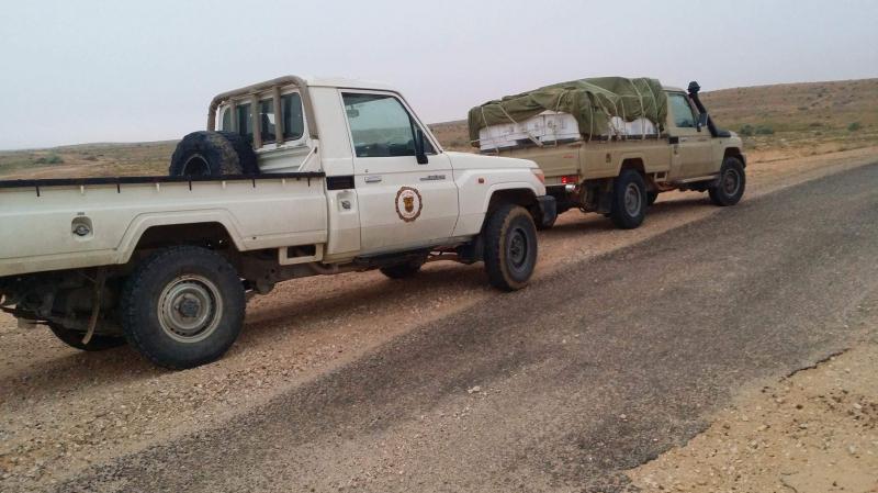 القيروان:حادث مرور اثر مطاردة شاحنة تهريب
