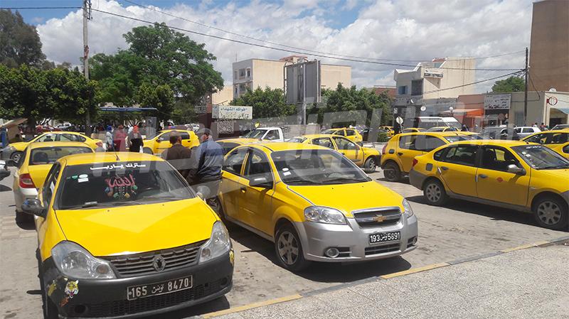 القصرين دون سيارات ''تاكسي''