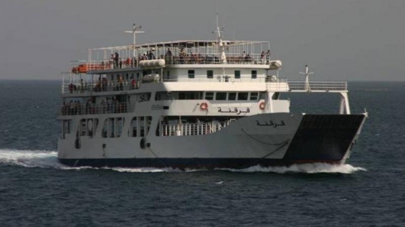 سفينة سريعة تُعزز أسطول النقل في قرقنة