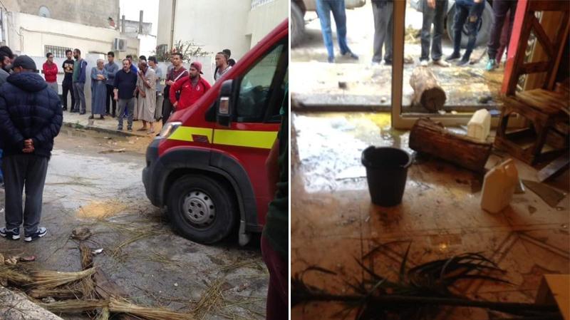 حقيقة الاعتداء على مقهى في رادس