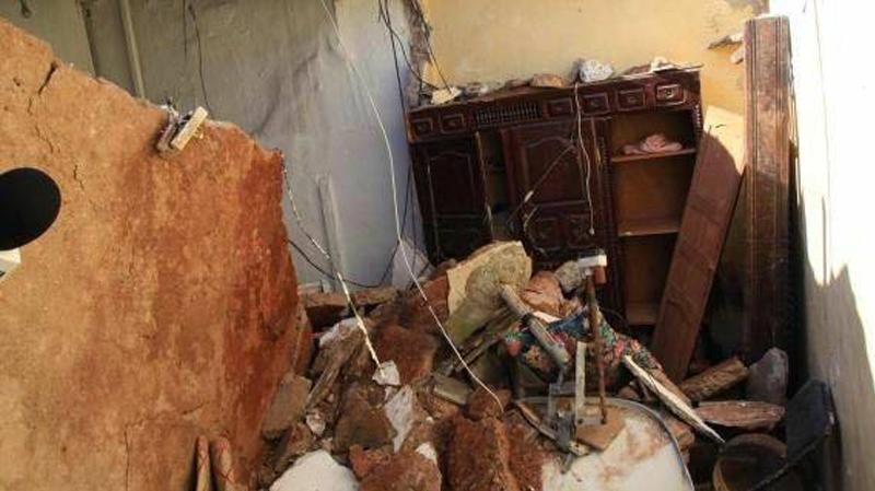سبيبة:الأمطار تتسبب في سقود جزء من سقف منزل و إصابات طفيفة لإمرأة