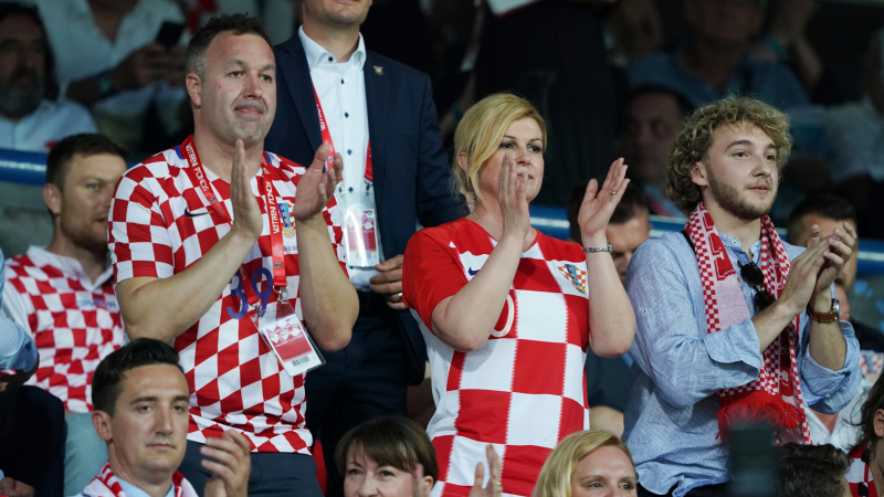 رئيسة كرواتيا تهنّئ تونس بالفوز