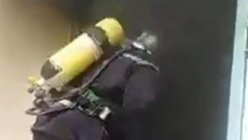 حريق بالمولد كهربائي في مستشفى نفطة