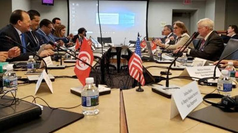 حوار إستراتيجي إقتصادي أمريكي تونسي  في جويلية
