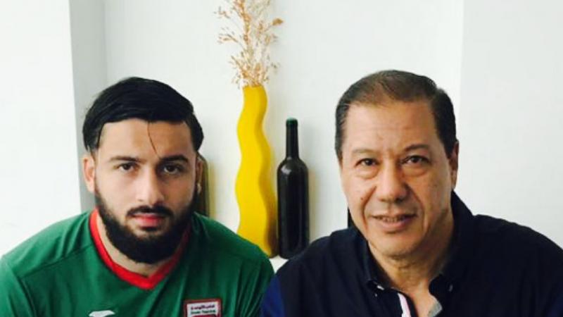 زين الدين التواتي في الملعب التونسي