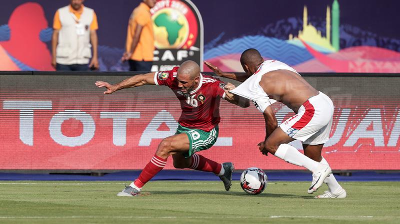 المغرب ينتزع فوزا صعبا أمام ناميبيا