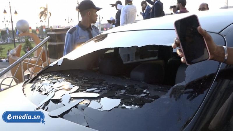 كان 2019: سنغاليون غاضبون يهشمون سيارة السفير