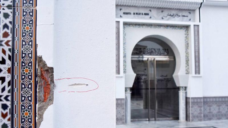 اسبانيا: اطلاق نار على مسجد في سبتة لا يسفر عن اصابات