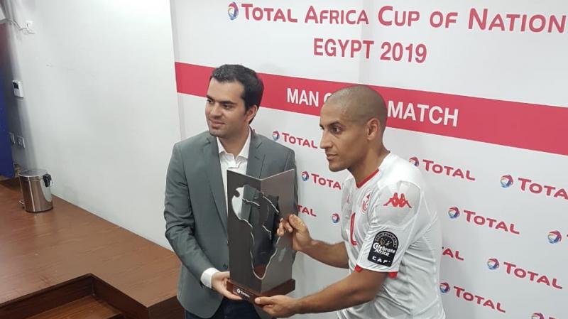 الخزري.. رجل مباراة تونس وأنغولا