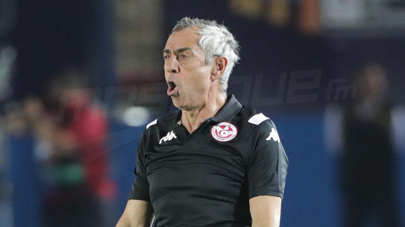 مدرب تونس :'فشلنا على مستوى جميع الخطوط'